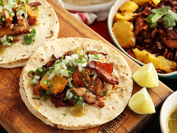 Homemade Tacos Al Pastor Recipe