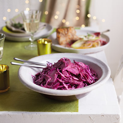 Beetroot and cabbage slaw