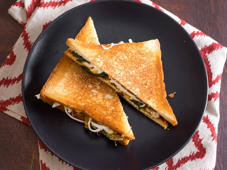 Cemita Grilled Cheese Sandwich Recipe