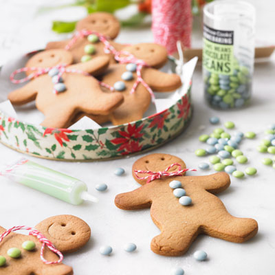 Christmas gingerbread men recipe | Waitrose