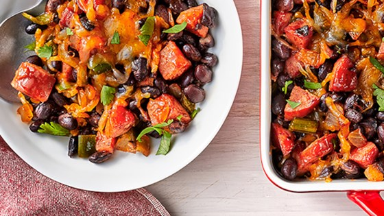 Tex-Mex Smoked Sausage Baked Beans Recipe