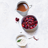 Cranberry & clementine sauce