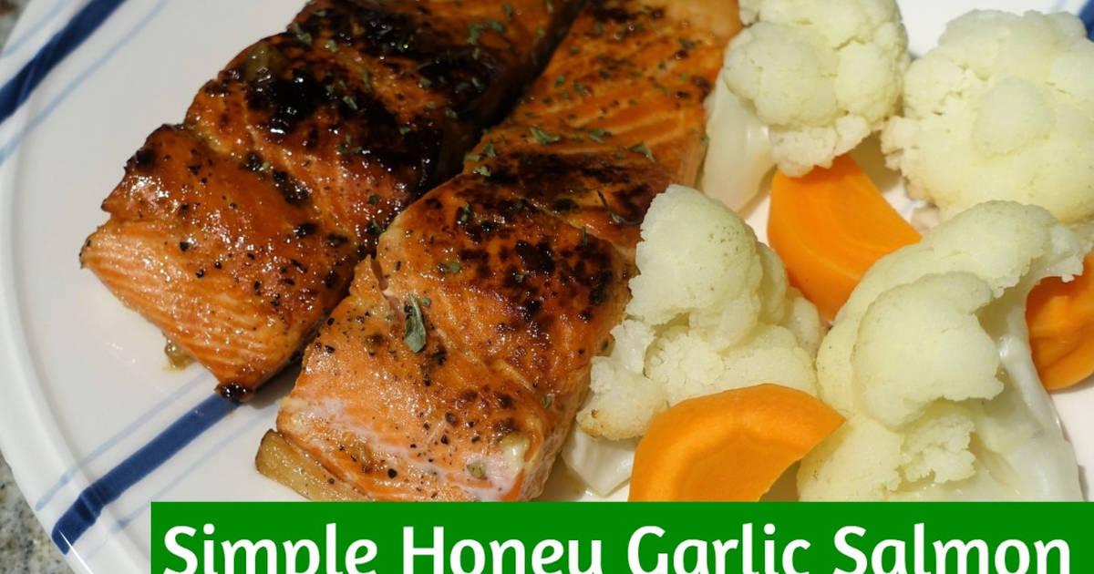 Simple Honey Garlic Salmon