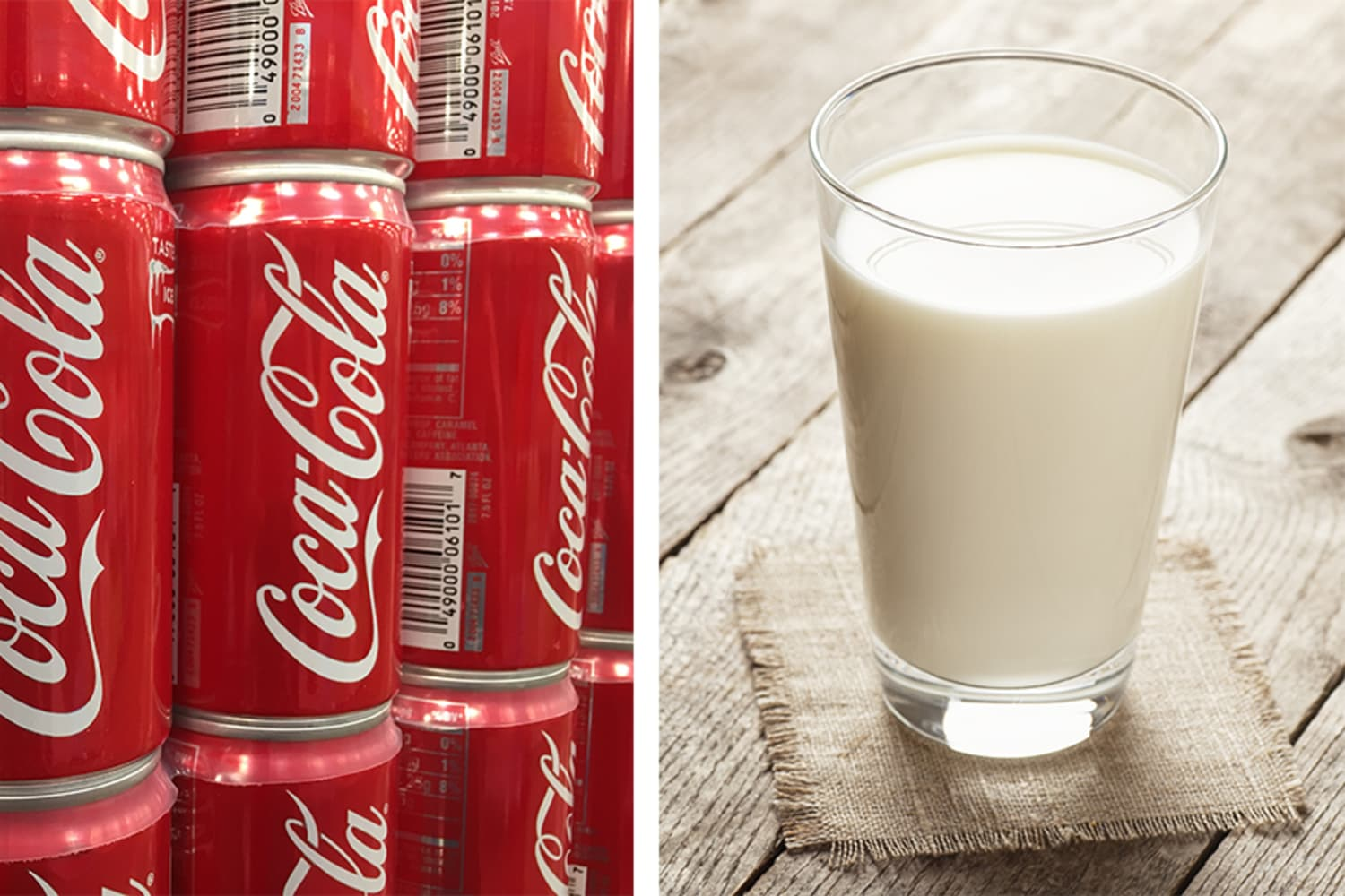 Mixing Coca-Cola and Milk Is a Thing People Do, I Guess