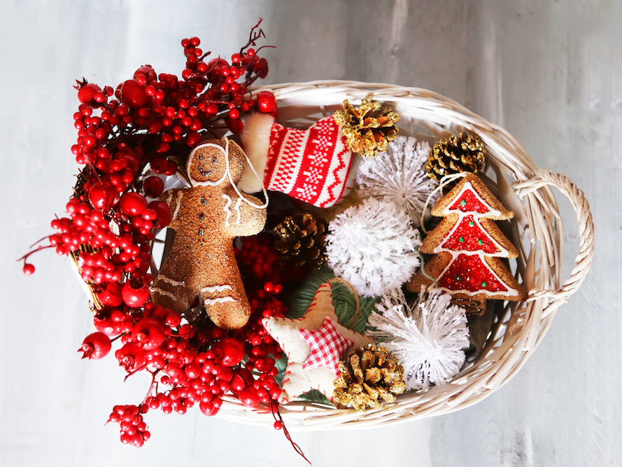 DIY Holiday Gift Basket Inspiration
