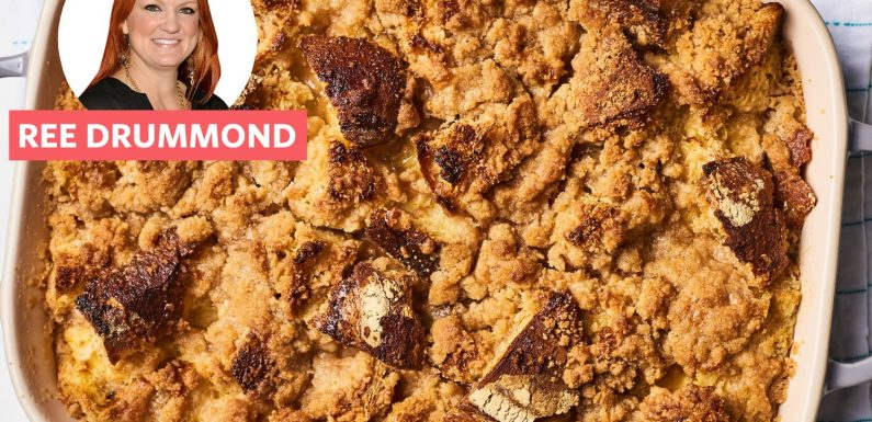 Ease into Your Morning with Pioneer Woman's French Toast Casserole