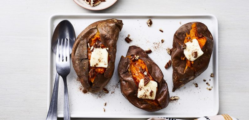 The Best (and Easiest) Way to Bake a Sweet Potato