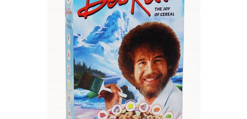 Bob Ross Cereal Is Part of This Calming Breakfast