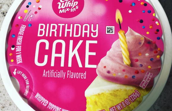 PSA: Birthday Cake Cool Whip Exists