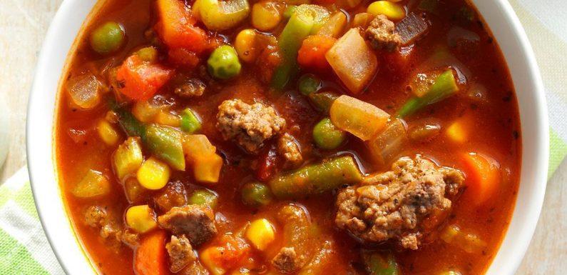 Pressure Cooker Spicy Beef Vegetable Stew