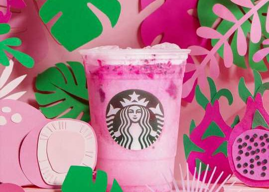 Starbucks Drops a Pink 'Dragon Drink' Just in Time for Summer—But Is It Healthy?