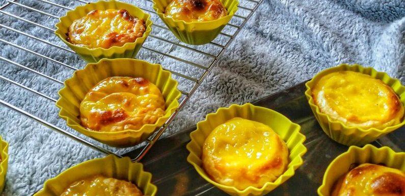 Easy Portuguesse Egg Tarts