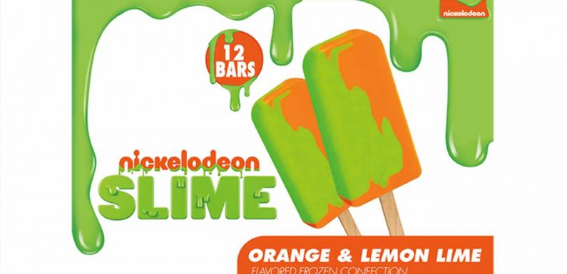 '90s Nostalgia Alert! Nickelodeon Slime Ice Cream Is Coming Soon to Walmart