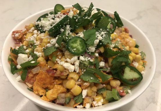 Spicy Frito Corn Salad