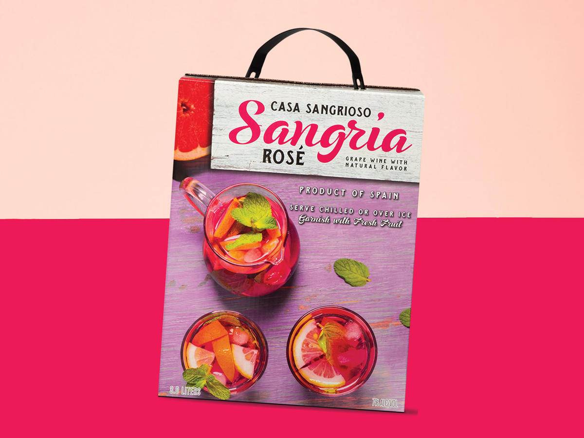 Aldi Is Selling Boxed Ros 233 Sangria And It S Under 10