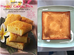 We Tried Trader Joe's New Mochi Cake Mix—Here's What We Thought