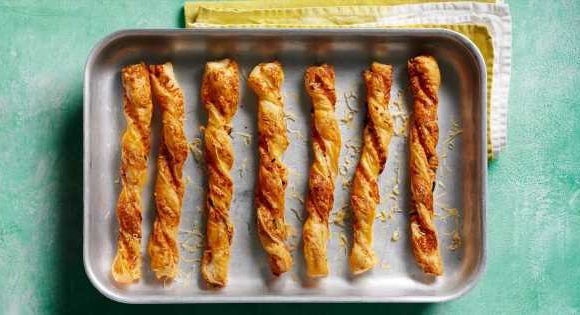 Halloumi Puff Pastry Twists