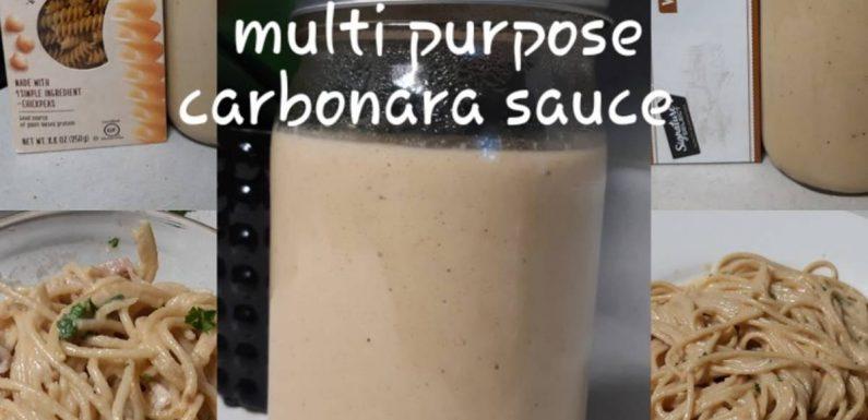 Vegan Smokey Carbonara Sauce