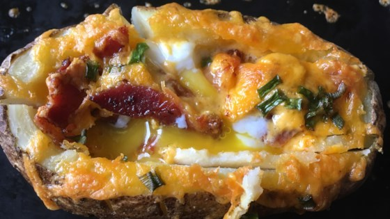 Idaho Sunrise (Breakfast Baked Potato) Recipe