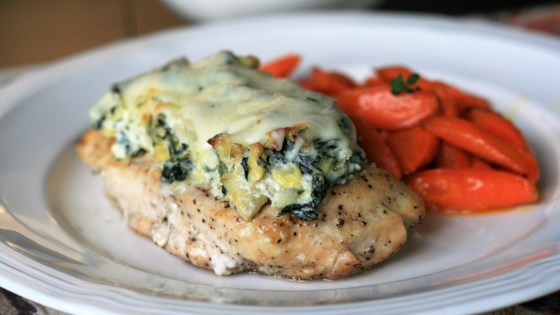 Keto Spinach-Artichoke Chicken Recipe