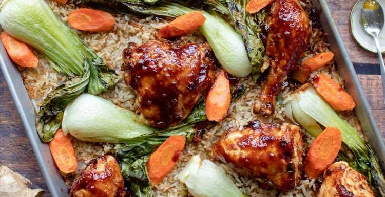 This Easy Chicken Dinner Cooks All on One Pan (Even the Rice!)