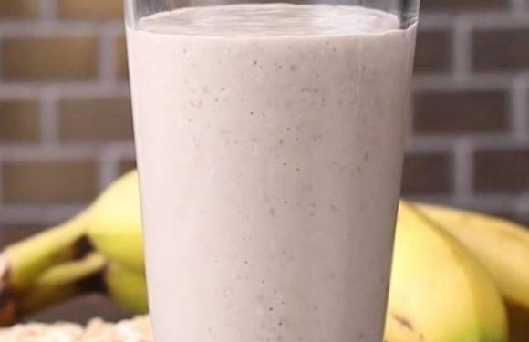 Banana Oat Smoothie