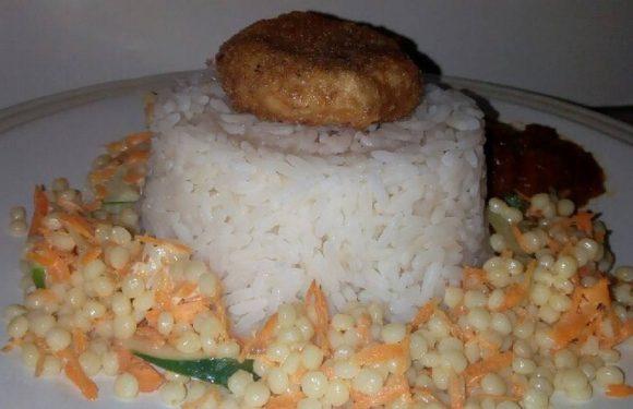 Coconut white rice