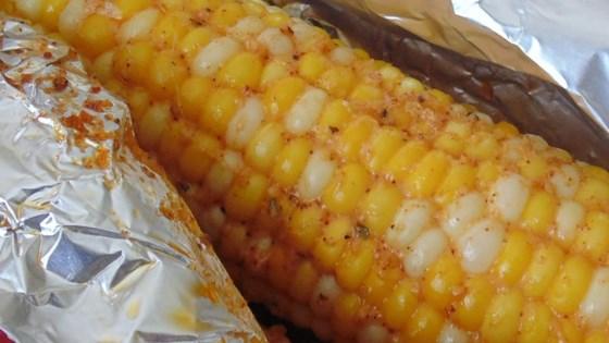 Oven Roasted Parmesan Corn on the Cob Recipe