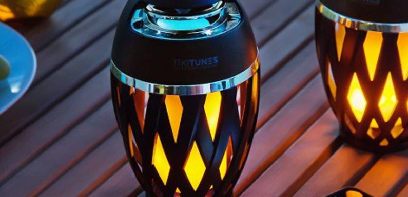 This Unusual Tiki Light Has a Fun Secret That Makes It Perfect for Outdoor Entertaining