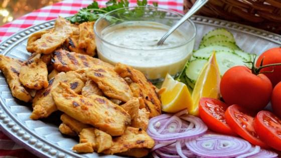 Yogurt-Marinated Chicken Shawarma Recipe