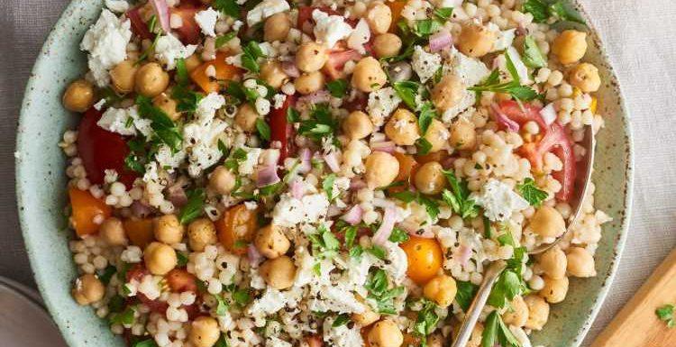 This Israeli Couscous Salad Is a Mediterranean Diet Dream