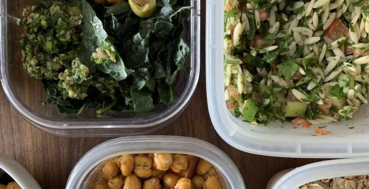 Meal Prep Plan: How I Prep a Week of Meatless Meals in Under 2 Hours