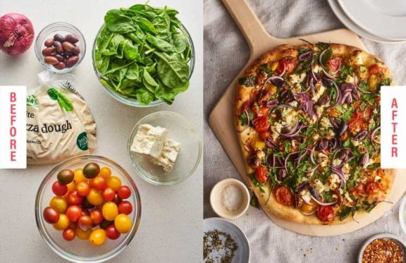 These 5-Ingredient Veggie Pies Will Seriously Upgrade Pizza Night