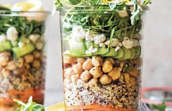 Mediterranean Salad Jars