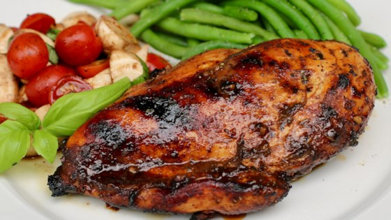 Grilled Balsamic Chicken Breast Recipe