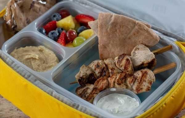 Greek Chicken Kabobs With Simple Herb Yogurt Dip
