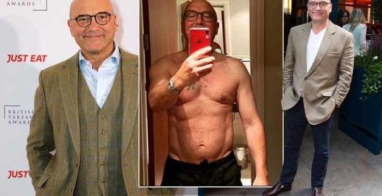 Celebrity MasterChef judge Gregg Wallace shows off six pack after three stone weight loss