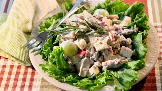 Fruity Chicken Salad with Tarragon Recipe