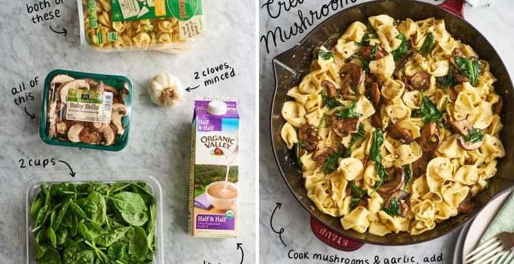 5 Ridiculously Easy Tortellini Dinners with Only 5 Ingredients