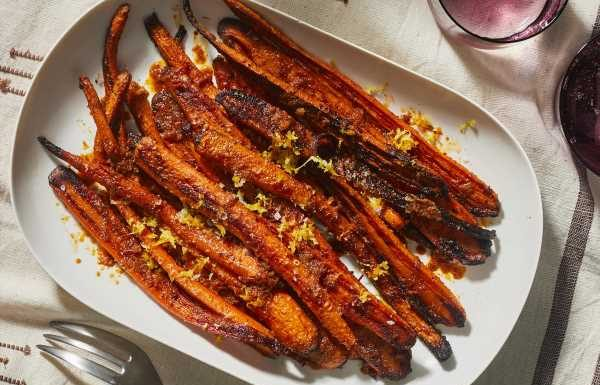 Spice-Crusted Carrots