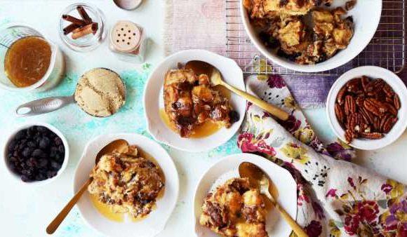 Instant Pot Bread Pudding