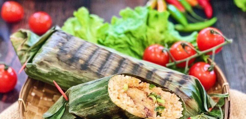 Spicy Sardines Grilled Rice
