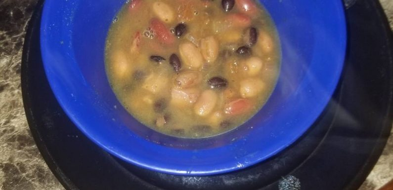 Hispanic Three Breans Soup