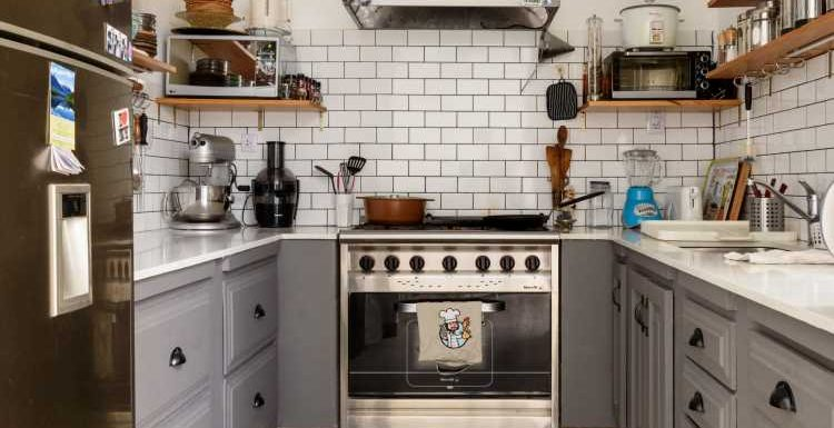An Easy and Obvious Way to Maximize Storage Space in the Kitchen