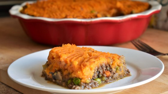 Sweet Potato and Venison Shepherd's Pie Recipe
