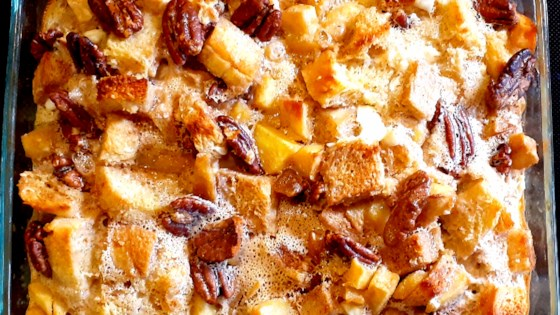 Cinnamon-Apple Strata Recipe