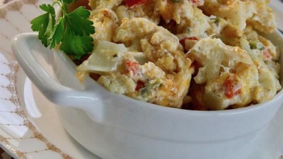 Cheesy Cauliflower Casserole Recipe