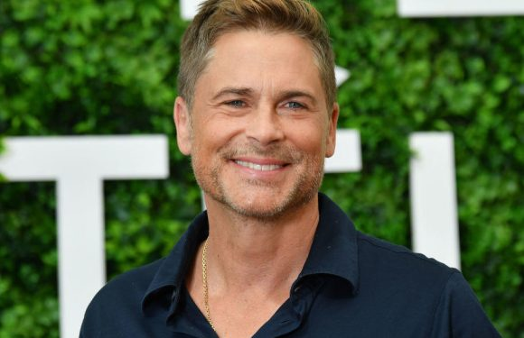 Rob Lowe Waters His Christmas Tree With 7-Up to Keep It Alive