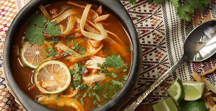 Sopa de Lima (Yucatán-Style Lime Soup) Recipe