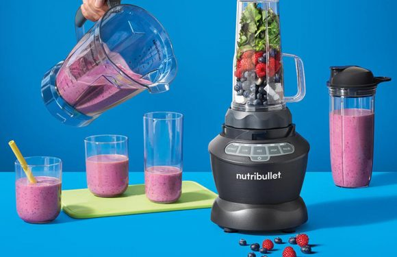 This Powerful NutriBullet Blender Is Perfect for Big-Batch Cooking—and It's on Sale